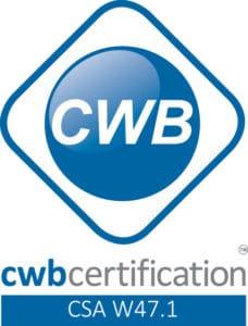 Canadian Welding Bureau Certification Mark